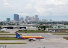 De passagiersstraal van Jamaïca van de lucht stock foto