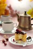 De Pastei Cupcake van de Room van Boston Royalty-vrije Stock Afbeelding