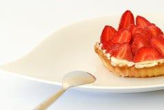 De pastei van aardbeien Royalty-vrije Stock Foto