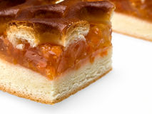 De pastei van de abrikoos. Stock Afbeelding