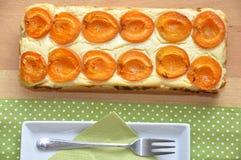 De pastei van de abrikoos Royalty-vrije Stock Afbeelding