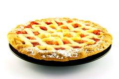 De Pastei van de appel en van de Aardbei Royalty-vrije Stock Afbeeldingen