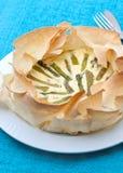 De pastei van de asperge Royalty-vrije Stock Afbeeldingen