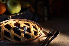 De pastei van de bosbes Royalty-vrije Stock Foto