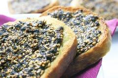 De pastei van de broodthyme Stock Foto