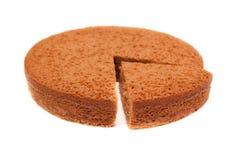 De pastei van de chocolade Stock Foto