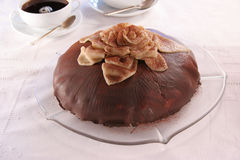De pastei van de chocolade Royalty-vrije Stock Afbeeldingen