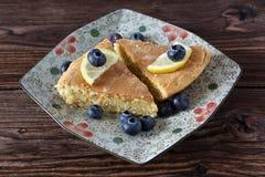 De pastei van de citroen Royalty-vrije Stock Fotografie