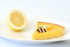 De pastei van de citroen Stock Fotografie