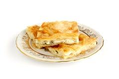 De pastei van de kaas Royalty-vrije Stock Afbeeldingen