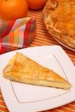 De pastei van de kaas Stock Fotografie