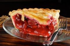 De pastei van de kers Stock Fotografie