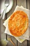 De Pastei van de kip en van de Pot van Groenten Royalty-vrije Stock Foto's