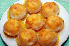 De pastei van de kokosnoot royalty-vrije stock afbeeldingen