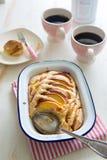 De pastei van de nectarineamandel Royalty-vrije Stock Fotografie