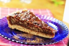 De pastei van de pecannoot Stock Foto's