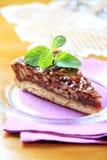 De pastei van de pecannoot Royalty-vrije Stock Foto's