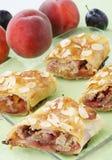 De pastei van de perzik Royalty-vrije Stock Foto's
