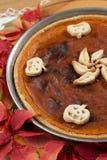 De Pastei van de pompoen Royalty-vrije Stock Foto's