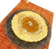 De pastei van de pompoen Stock Afbeeldingen
