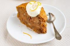 De pastei van de pompoen Royalty-vrije Stock Foto