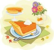 De pastei van de pompoen Stock Foto