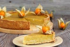 De pastei van de pompoen Stock Fotografie