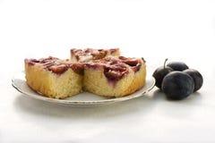 De pastei van de pruim Royalty-vrije Stock Foto