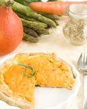 De pastei van groenten Royalty-vrije Stock Afbeeldingen