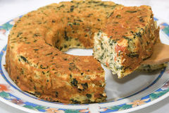 De pastei van groenten Royalty-vrije Stock Foto