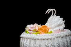 De pastei van het huwelijk Royalty-vrije Stock Foto