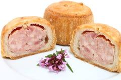 De Pastei van het varkensvlees Stock Foto