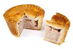 De Pastei van het varkensvlees Royalty-vrije Stock Foto