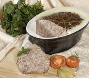 De Pastei van het vlees Royalty-vrije Stock Afbeeldingen