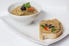 De pastei van veganistlinzen Royalty-vrije Stock Afbeelding