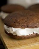 De pastei van Whoopie Royalty-vrije Stock Foto's