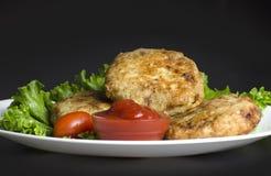 De Pasteitjes van de gebakken aardappelaardappel Royalty-vrije Stock Fotografie