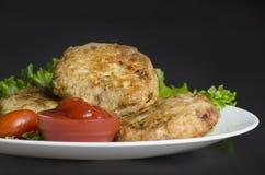 De Pasteitjes van de gebakken aardappelaardappel Royalty-vrije Stock Afbeelding