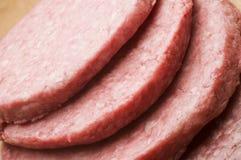 De pasteitjes van de hamburger Stock Foto