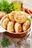De pasteitjes van het vlees Stock Foto