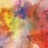 De pastelkleur bespat grungy achtergrond stock illustratie