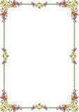 De pastelkleur van het ornament frame1 Stock Afbeeldingen