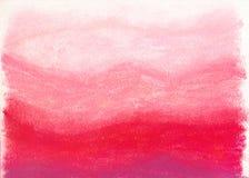 De pastelkleurachtergrond van het krijt Stock Afbeeldingen
