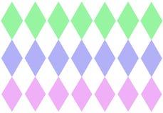 De pastelkleurdiamanten van de pens royalty-vrije stock afbeeldingen
