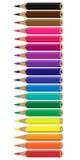 De pastelkleuren Stock Afbeelding