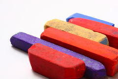De Pastelkleuren van het kleurkrijtje Royalty-vrije Stock Foto's