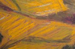De pastelkleurenachtergrond van de olie Stock Fotografie