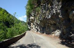 De pasweg van Cerna Royalty-vrije Stock Foto's