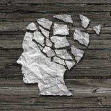De Patiënt van Alzheimer Royalty-vrije Stock Afbeelding