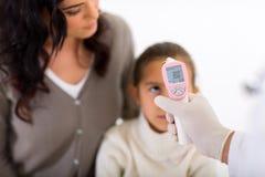 De patiënt van de lichaamstemperatuur stock foto's